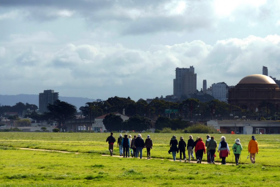 Trip photo #12/21 YWalkers on Crissy Field