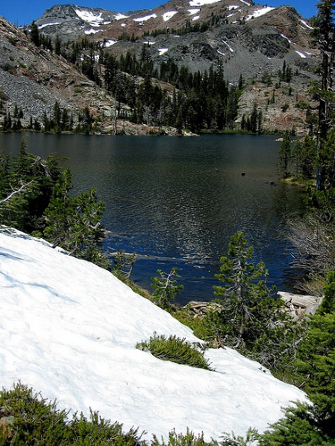 Trip photo #26/69 Snow at Lake Susie