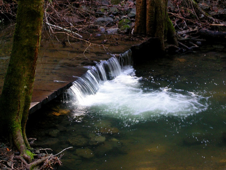 Trip photo #75/81 Small Artificial Waterfall in Devils Gulch Creek