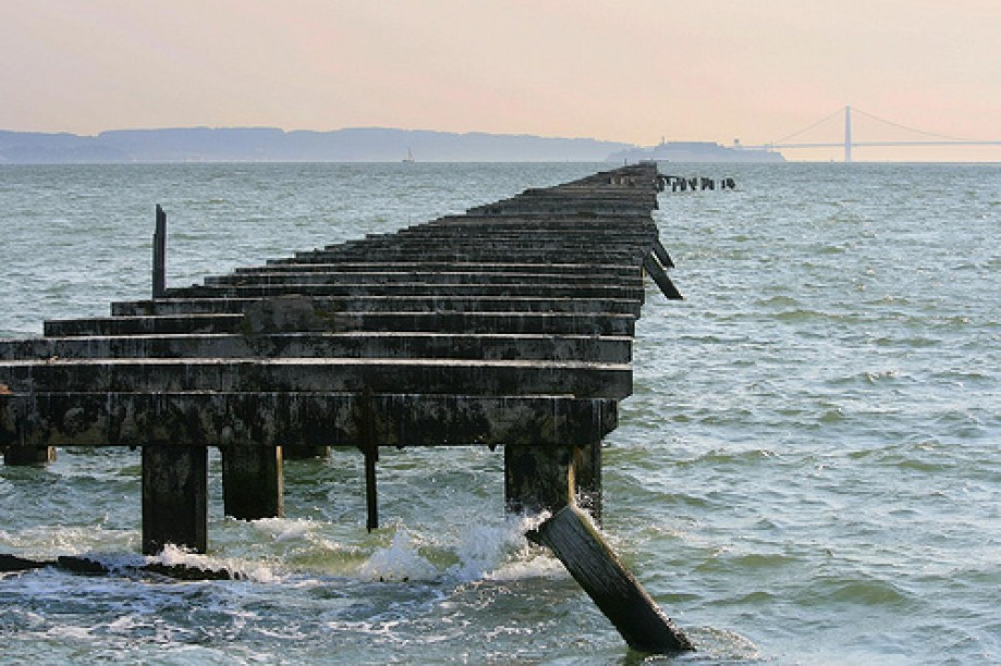 Trip photo #15/92 Remains of Berkeley Fishing Pier