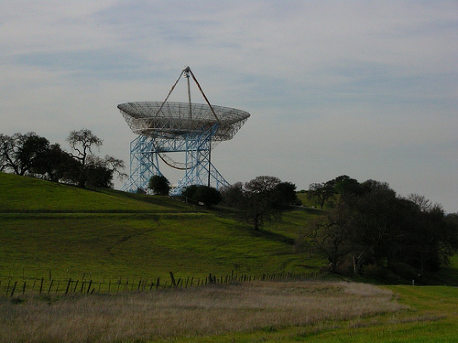 Trip photo #17/34 Stanford Big Dish Antenna