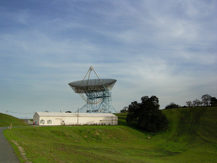 Trip photo #25/34 Stanford Big Dish Antenna