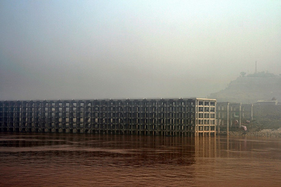 Trip photo #174/200 Future Pier on the Yangtze - Built to future waterlevel