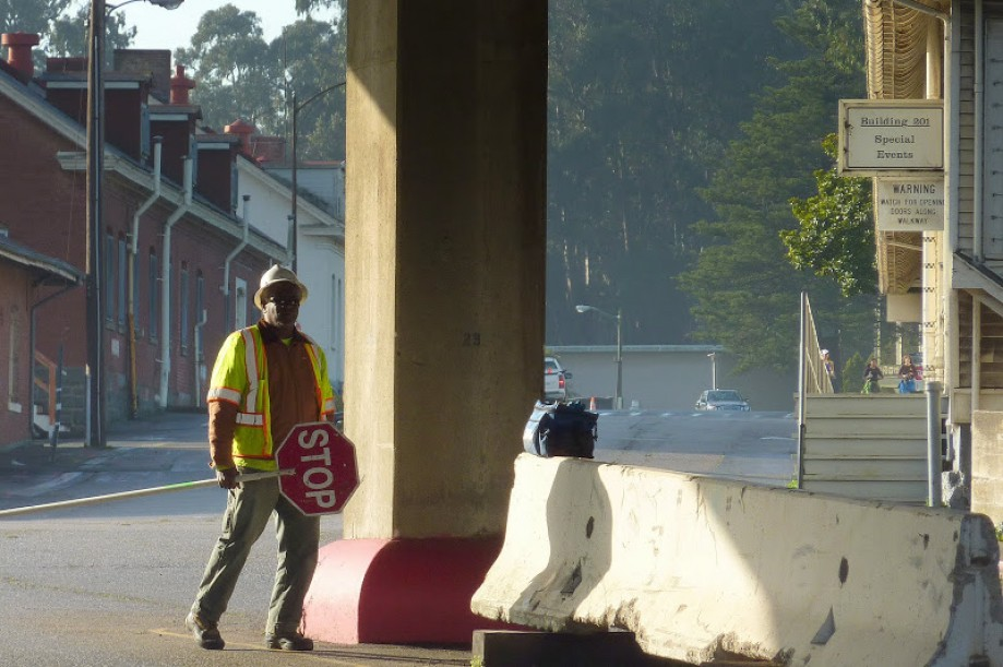 Trip photo #1/41 Flagman under Doyle Drive