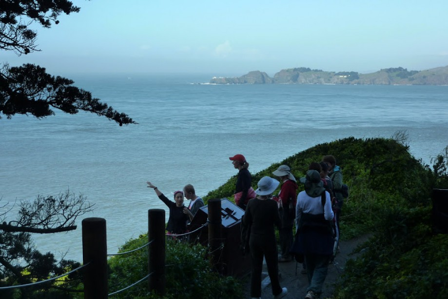 Trip photo #14/41 YWalkers above Marshall's Beach