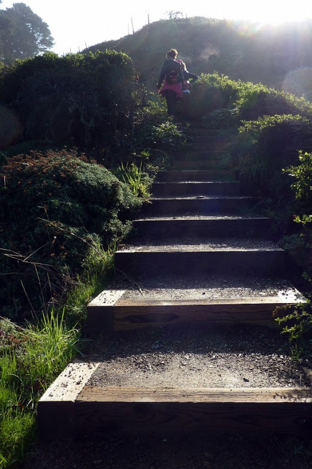 Trip photo #20/41 Stairs to Battery Crosby