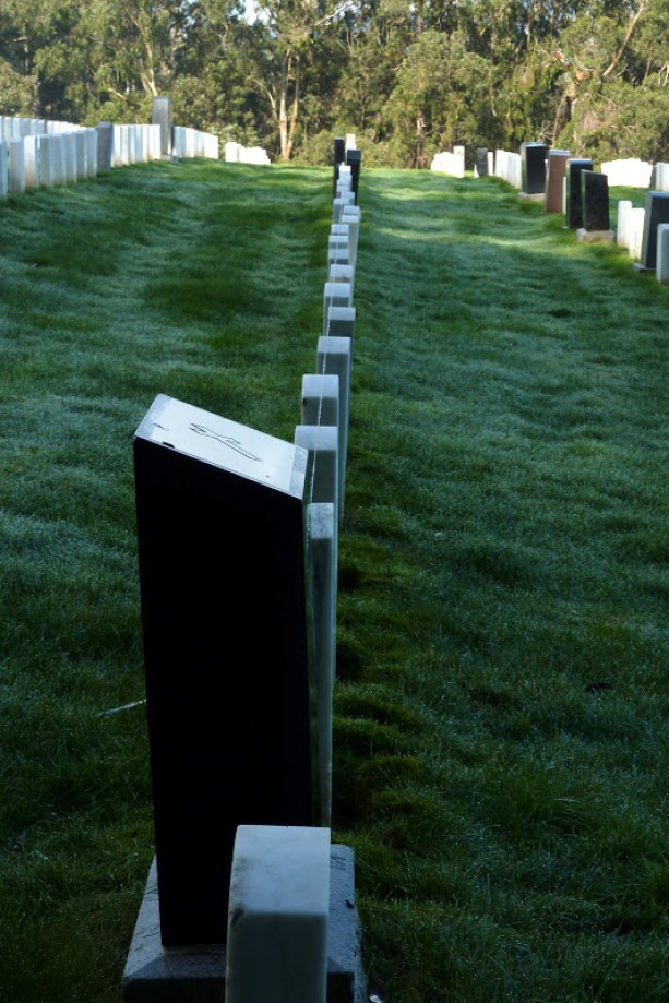 Trip photo #39/41 Truing Line for Grave Stones