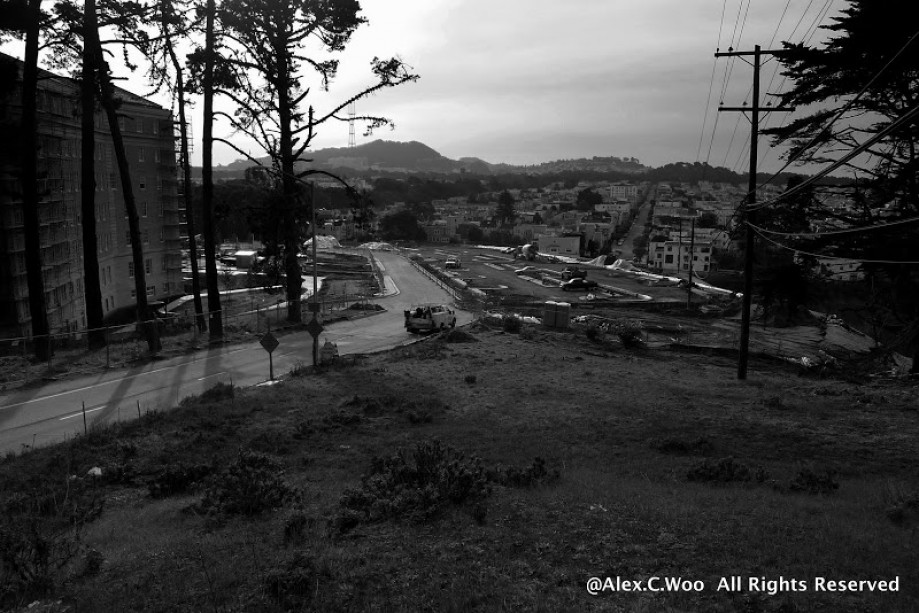 Trip photo #8/28 New Parking Lot toward Sutro Towers