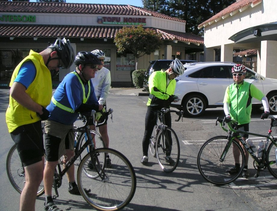 Trip photo #1/14 Start at the Dublin location of Livermore Cyclery