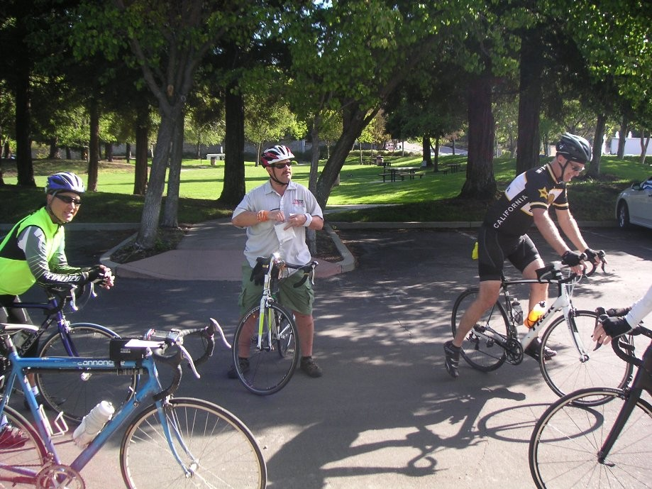Trip photo #1/11 Start at San Ramon Central Park