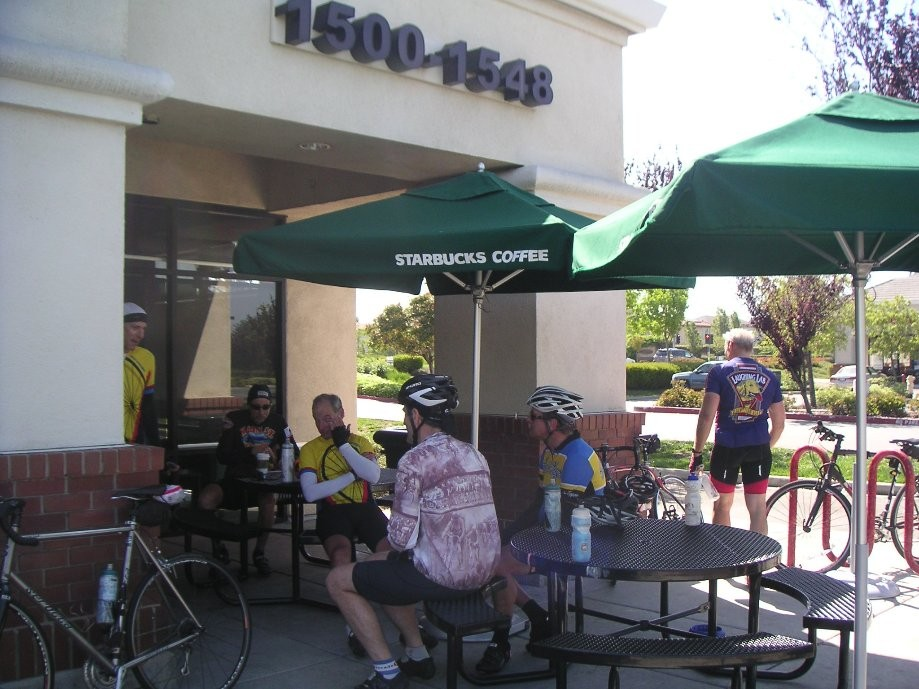Trip photo #5/10 1st Starbucks stop at Vasco and Scenic