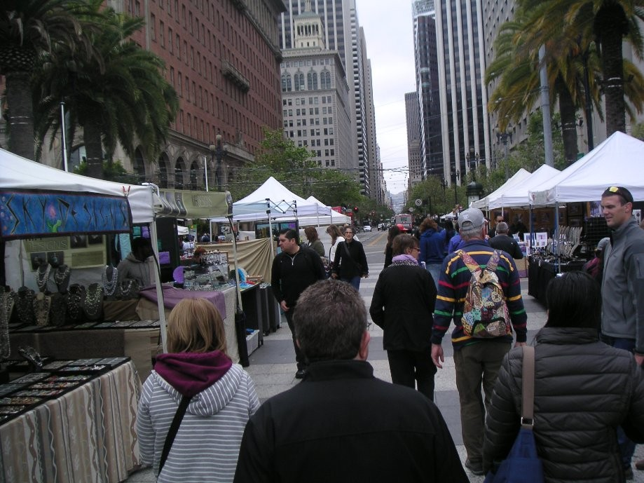 Trip photo #7/7 Justin Herman Plaza market