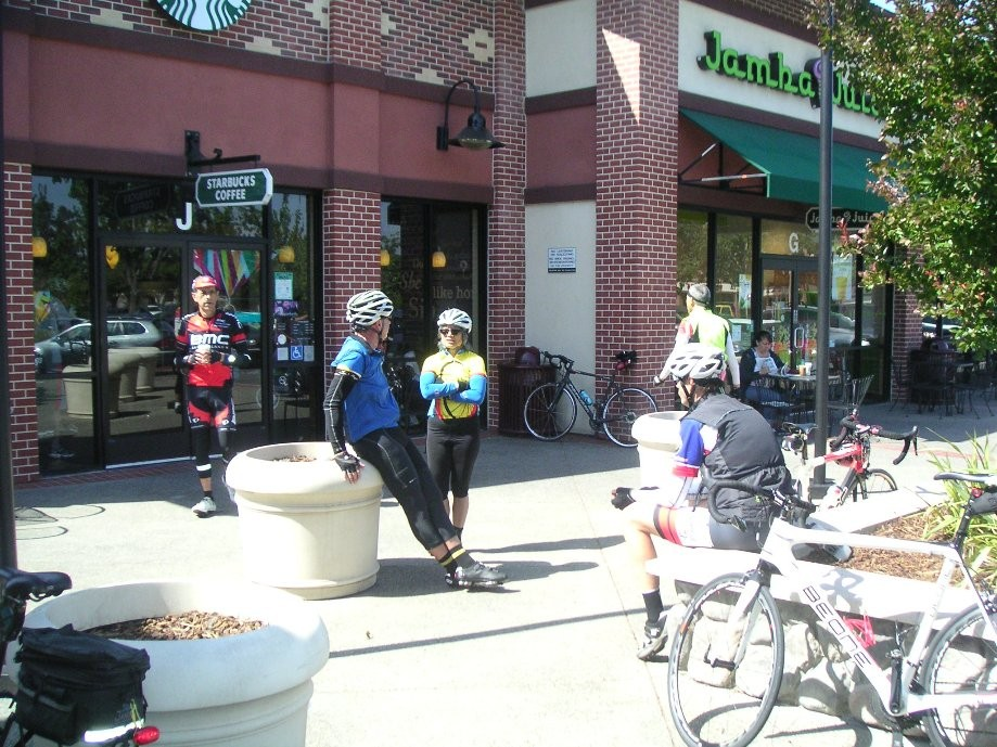 Trip photo #6/8 Starbuck's stop at Portola