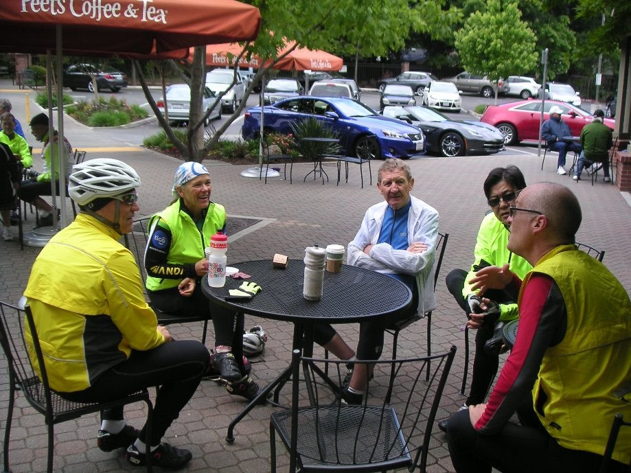 Trip photo #2/4 Refreshment stop at Peet's Coffee