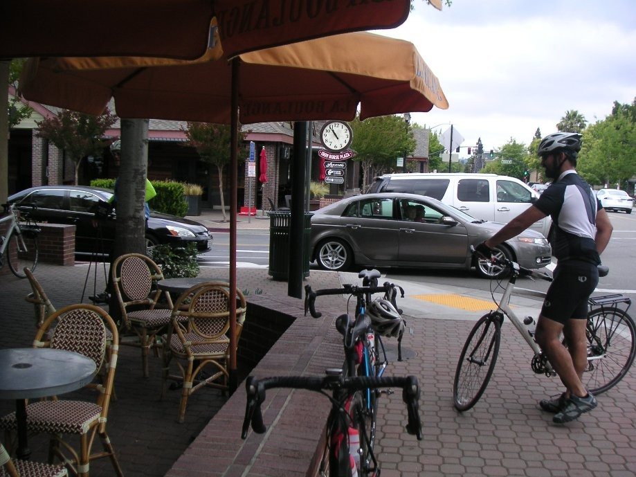 Trip photo #13/14 Refreshment stop at La Boulange bakery in Danville