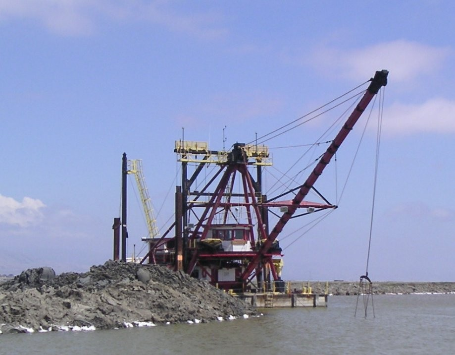 Trip photo #39/40 Dredge ship