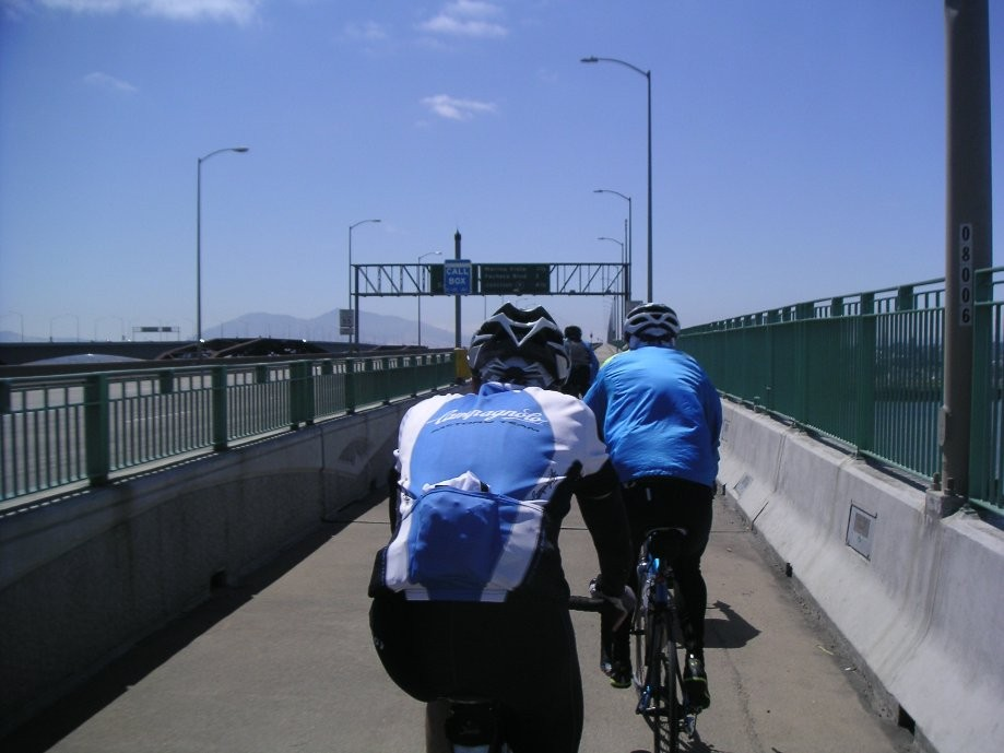 Trip photo #19/20 Back over the Benicia Bridge
