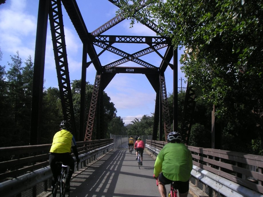 Trip photo #2/16 Old RR bridge on the Iron Horse trail