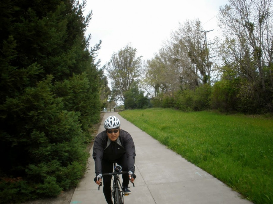 Trip photo #4/4 and back on the Iron Horse trail