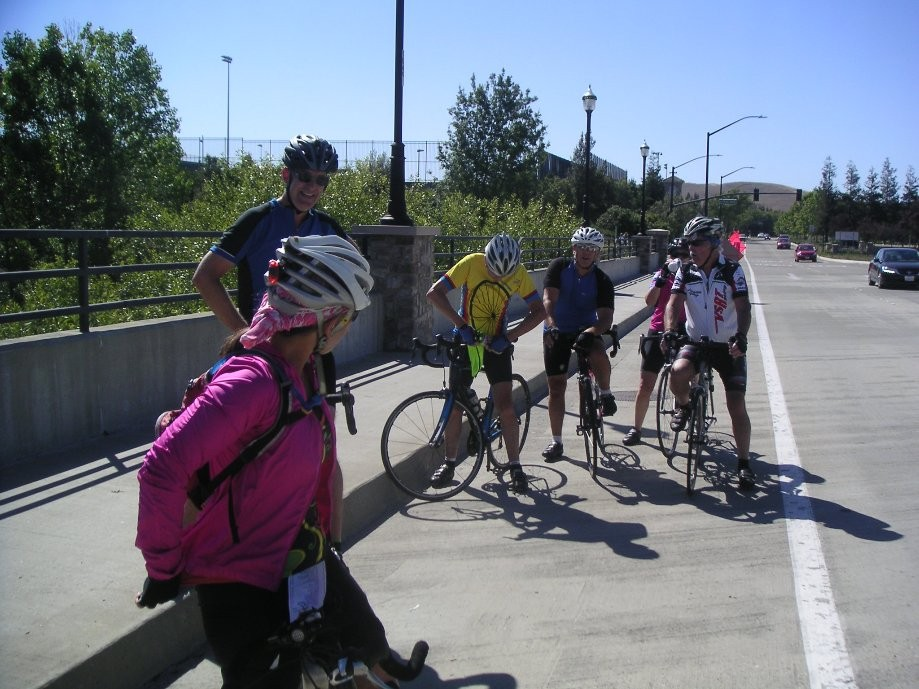 Trip photo #2/8 Regroup on Bollinger Canyon Rd.