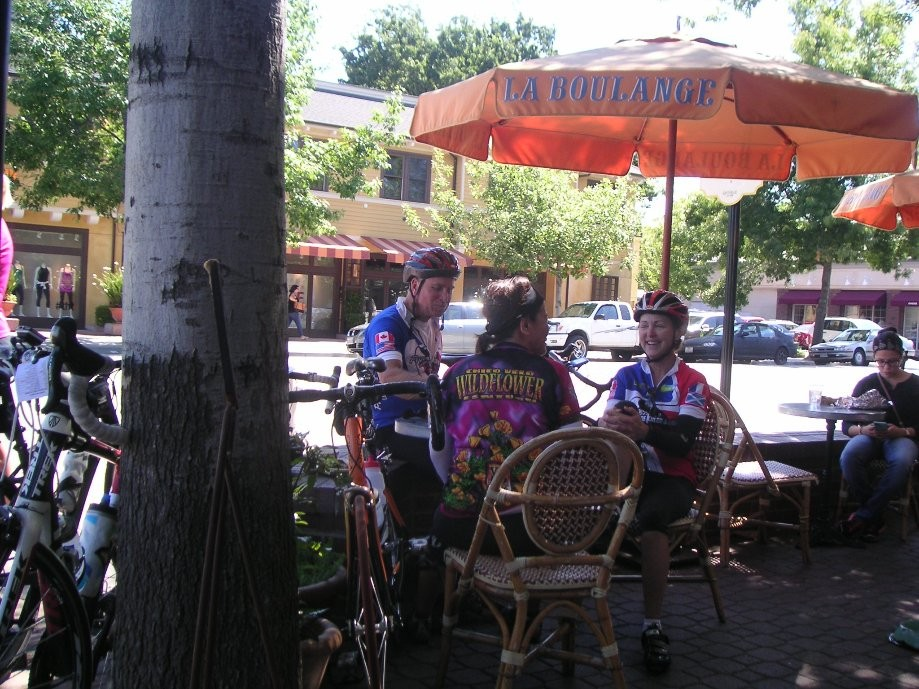 Trip photo #14/15 Refreshment stop at La Boulange
