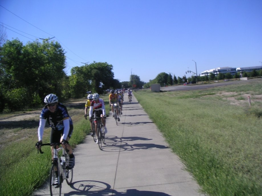 Trip photo #1/20 Starting out on the Iron Horse trail