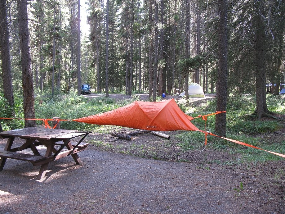 Trip photo #31/33 Interesting tent design (actually at Castle Mtn)