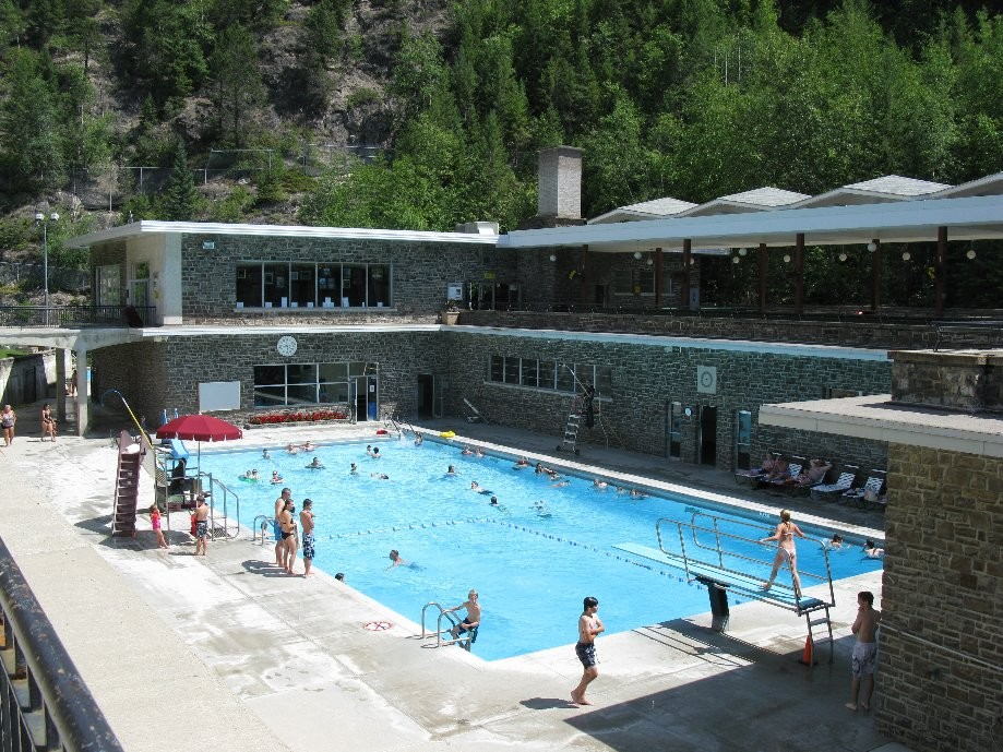 Trip photo #14/20 Radium Hot Springs 'cool pool'