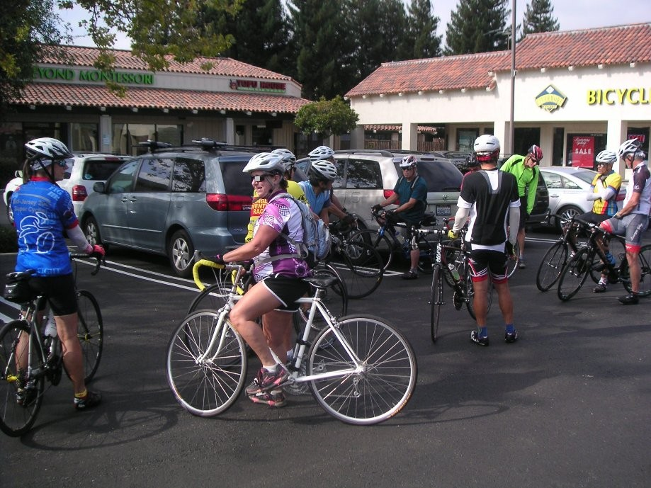 Trip photo #1/10 Start at the Dublin location of Livermore Cyclery