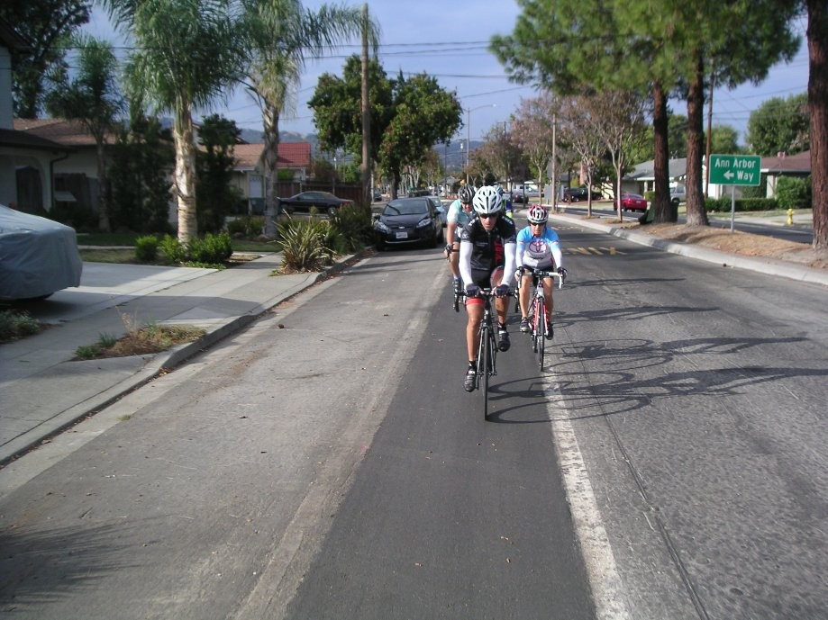 Trip photo #1/5 Starting out down Amador Valley Blvd.