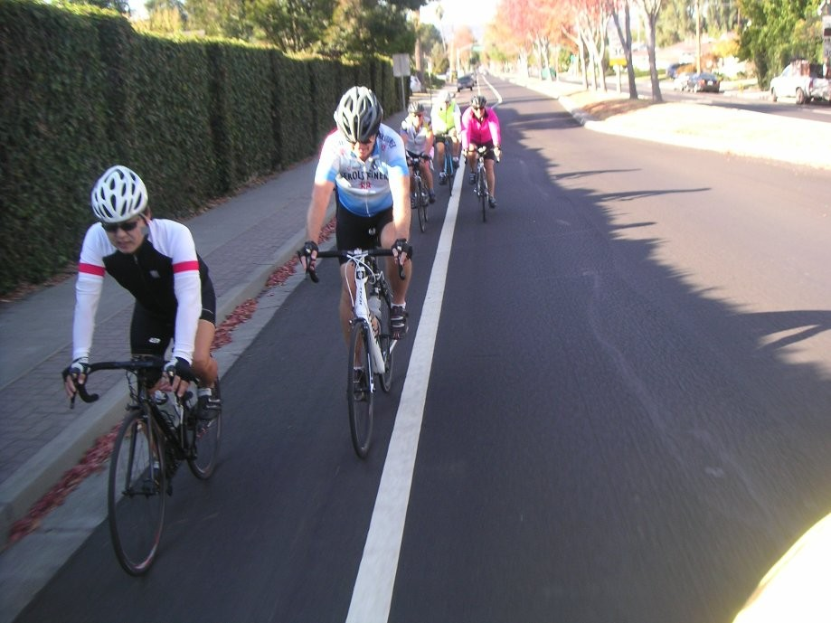 Trip photo #1/3 Starting out down Amador Valley Blvd.
