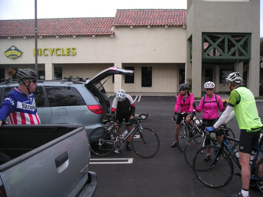 Trip photo #1/11 Start at the Dublin location of Livermore Cyclery