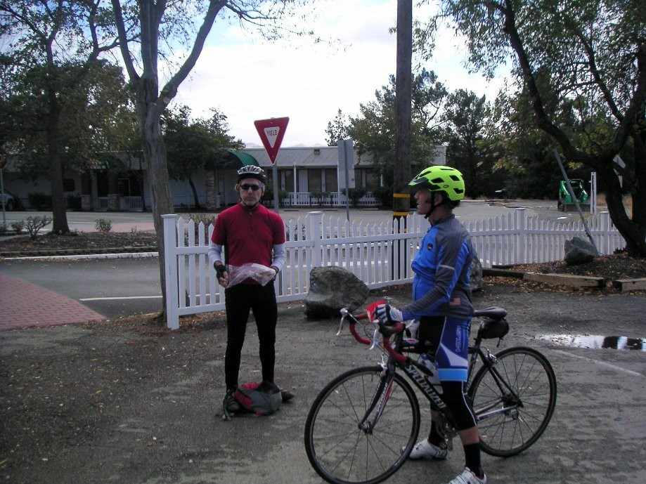 Trip photo #3/16 Regroup at Sunol RR station