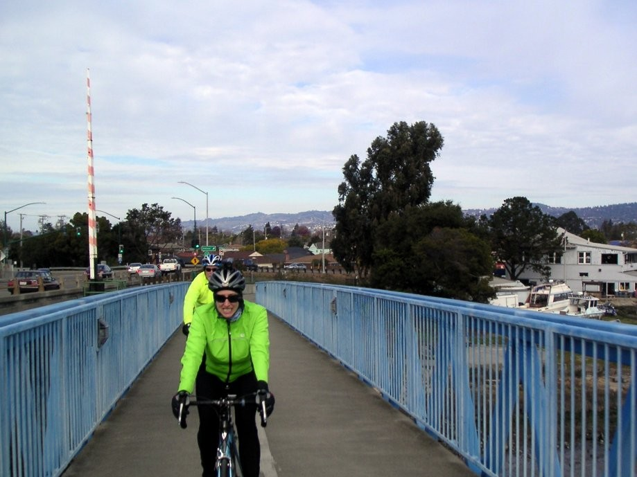 Trip photo #19/24 Bay Farm Island ped/bike drawbridge