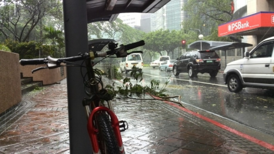 Trip photo #4/23 Downpour at Paseo plaza