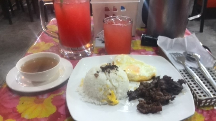 Trip photo #1/1 Tapsilog and four seasons. Didn't plan the tapsilog part.