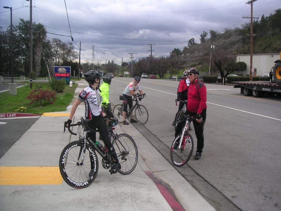 Trip photo #8/14 Regroup on Pacheco Blvd.