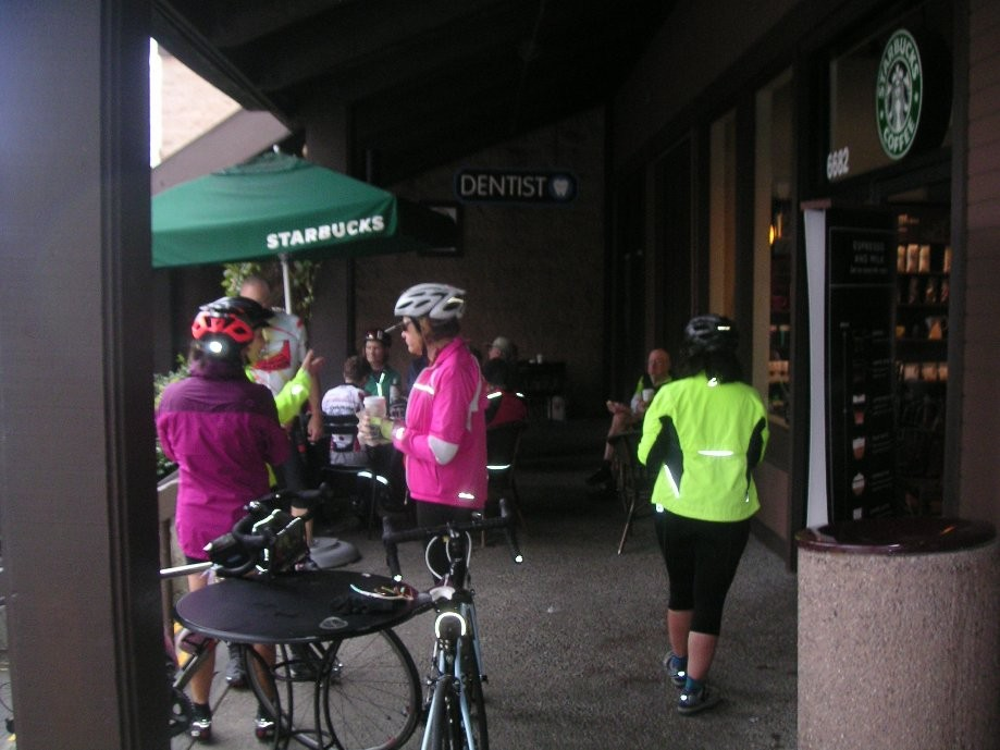 Trip photo #11/14 Starbucks refreshment stop