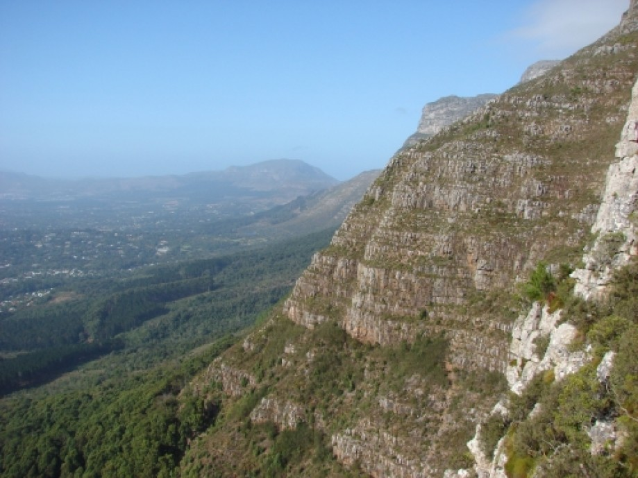 Trip photo #8/28 The view towards the Constantia wine farms.