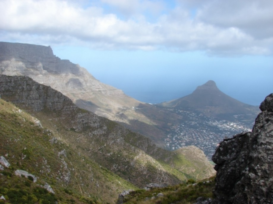 Trip photo #16/28 View of Lion's head in the distance.