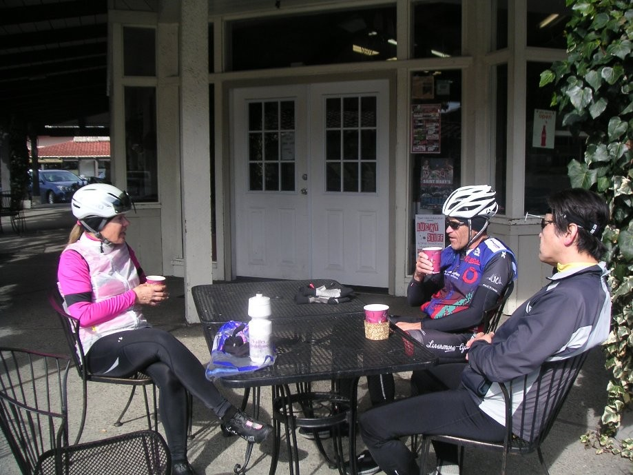 Trip photo #8/12 Refreshment stop in Moraga