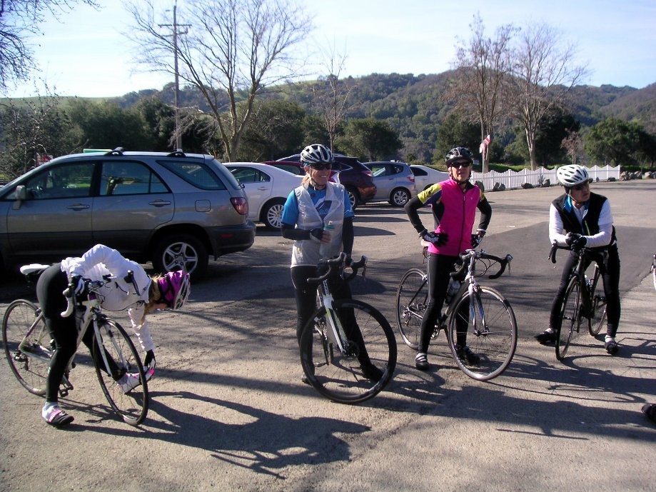 Trip photo #2/3 Regroup at Sunol RR station