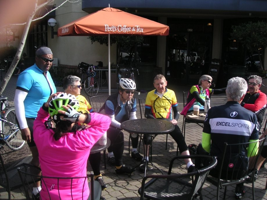 Trip photo #5/5 Refreshment stop at Peet's