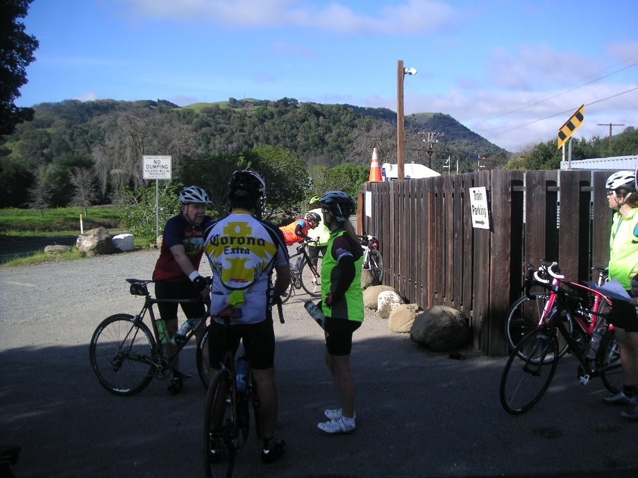 Trip photo #3/26 Regroup at Sunol RR station