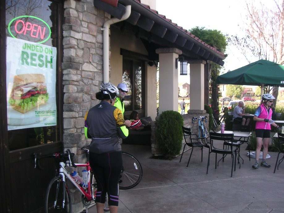 Trip photo #13/26 Starbucks stop on Vineyard at Isabel