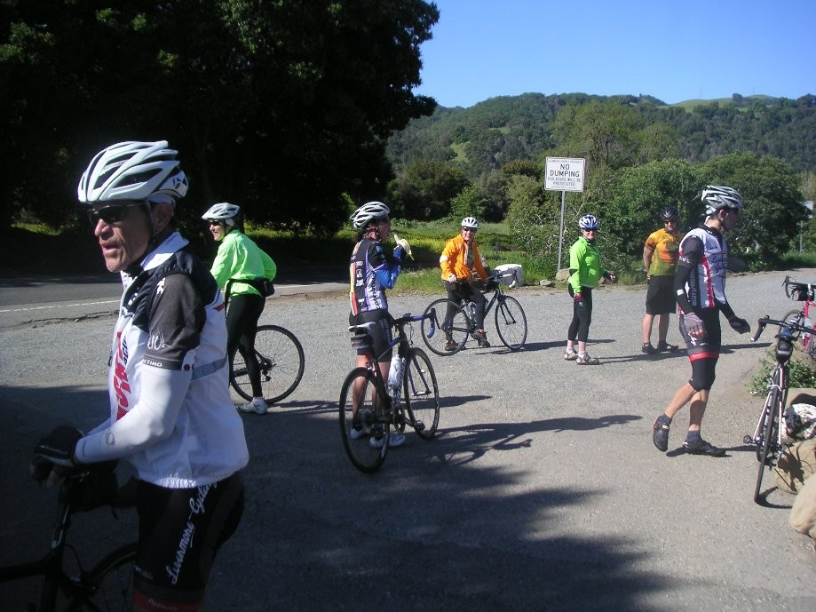 Trip photo #9/19 Regroup at Sunol RR station