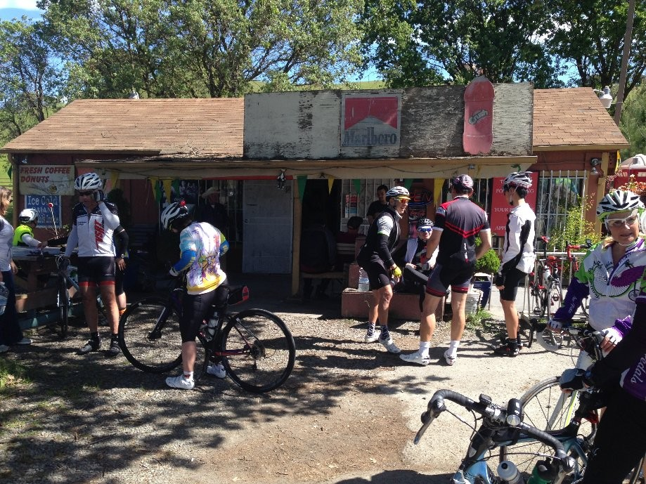 Trip photo #18/19 Regroup at General Store in Sunol
