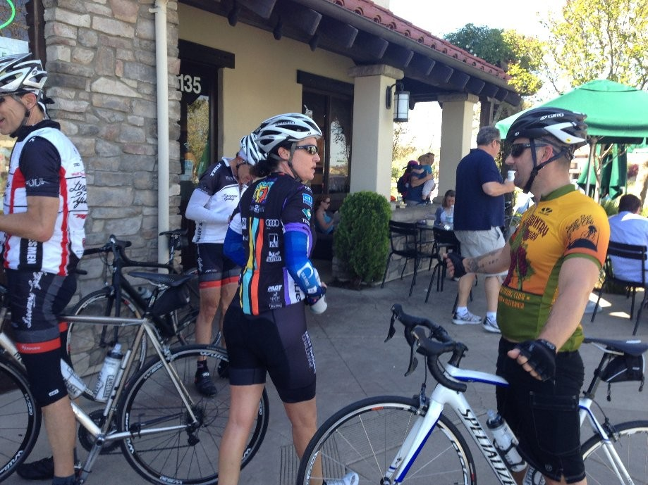 Trip photo #19/19 Refreshment stop at Starbucks on Vineyard