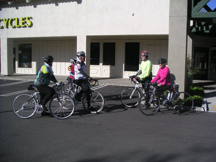 Trip photo #1/11 Starting out from Dublin location of Livermore Cyclery