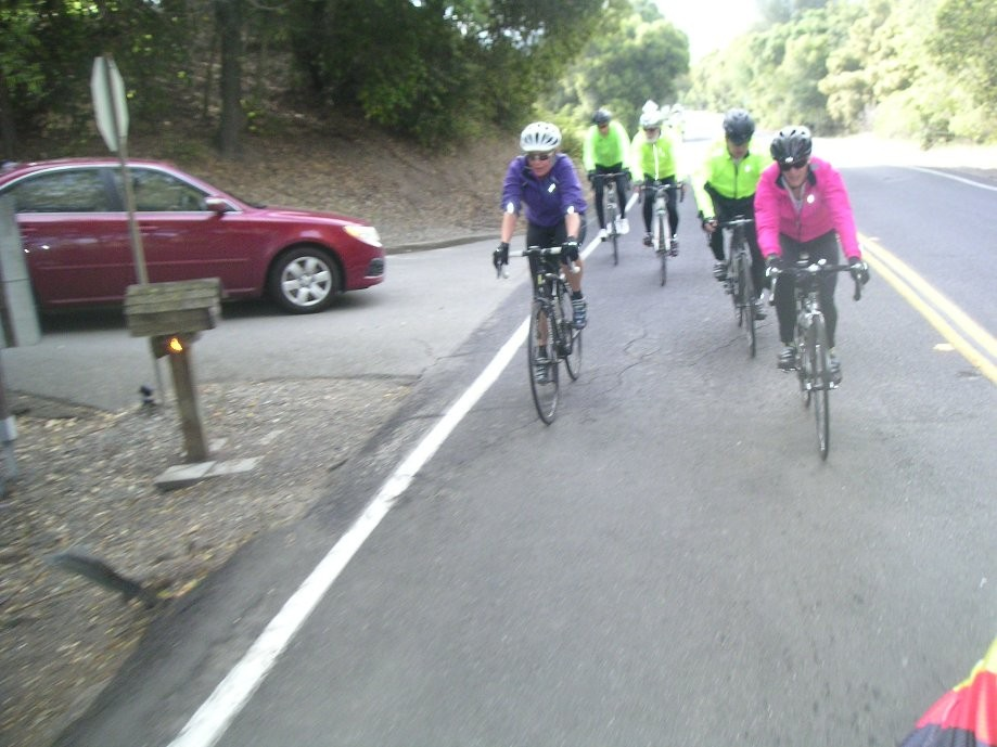 Trip photo #3/10 Heading up Bollinger Canyon rd.